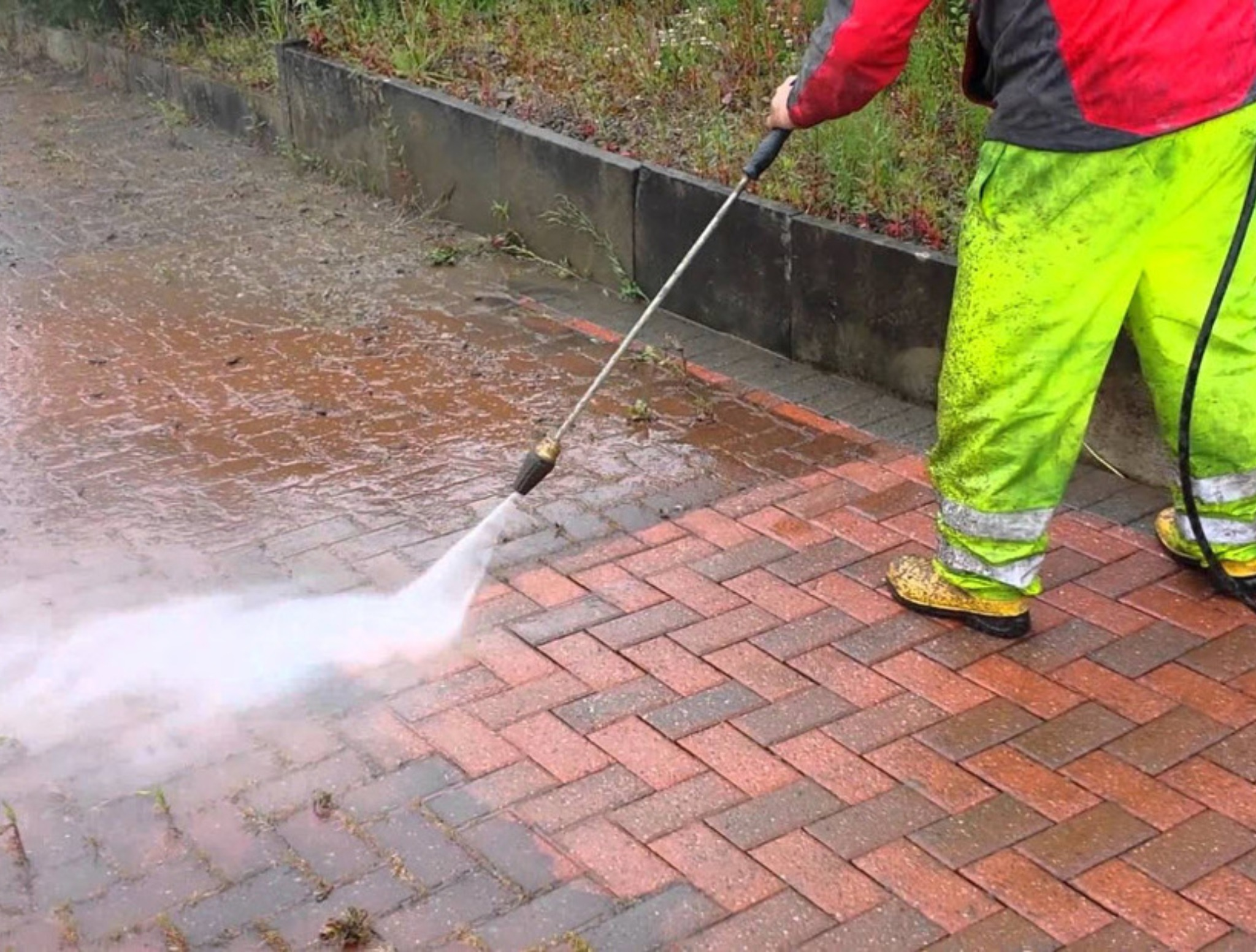 Pressure Washing Patios - Elyria, OH